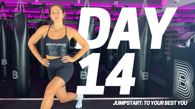 Jumpstart To Your Best YOU: Day 14