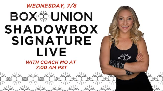 LIVE Shadowbox Signature Class with C...