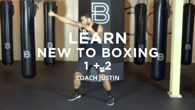 Learn - New To Boxing: 1 + 2
