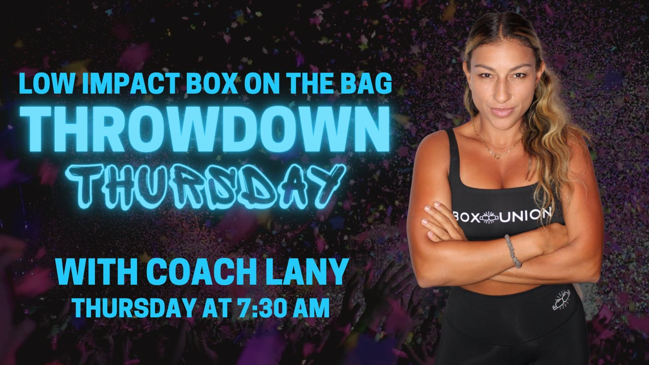 Low Impact Box on the Bag with Coach Lany