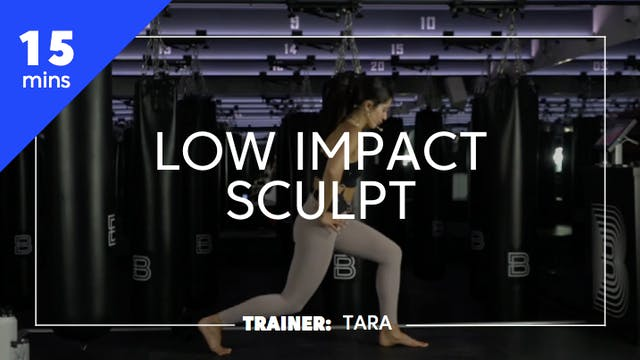 15min Low Impact Sculpt