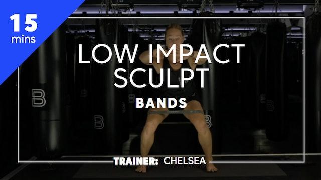 15min Low Impact Sculpt w/ Bands