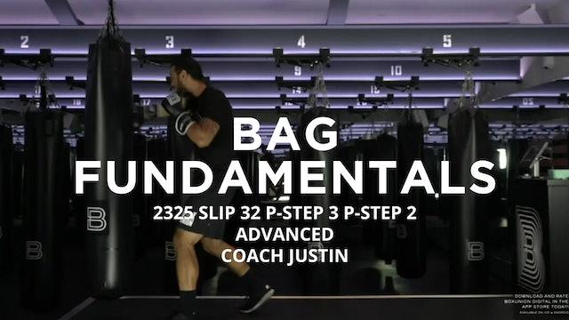 Bag Fundamentals - Advanced: 2325 SLIP 32 P-STEP 3 P-STEP 2