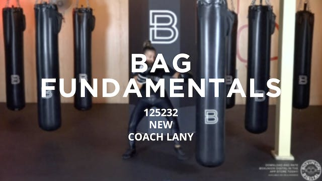 Bag Fundamentals - New To Boxing: 125232