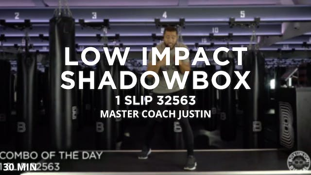 Low Impact Shadowbox - 10/28/2020