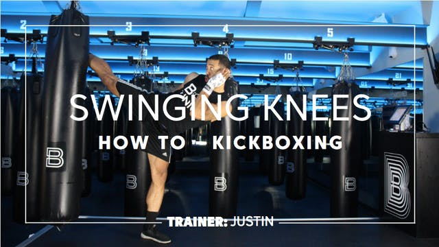 How To - Kickboxing: Swinging Knees