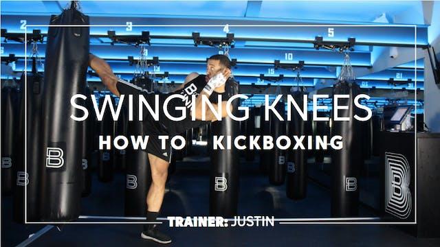 How To - Kickboxing: Swinging Knees