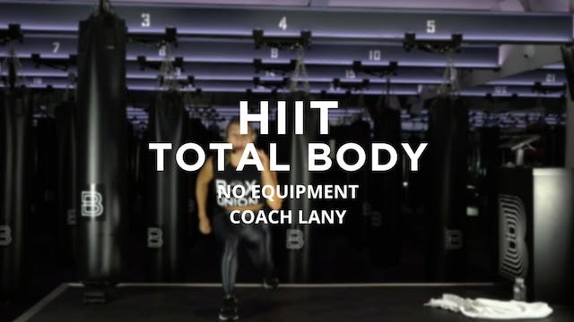 HIIT - Total Body: No Equipment