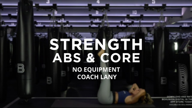 Strength - Abs & Core: No Equipment