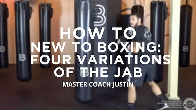 How To - New To Boxing: Four Variatio...