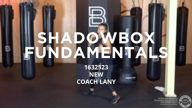 Shadowbox Fundamentals - New To Boxing: 1632523