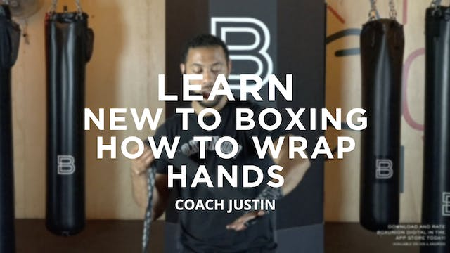 Learn - New To Boxing: How To Wrap Ha...