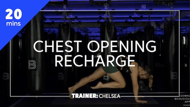 20min Chest Opening Recharge