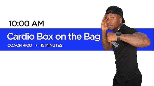 Cardio Box on the Bag with Coach Rico