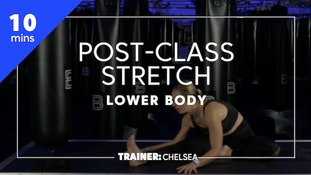 10min Post-Class Stretch - Lower Body