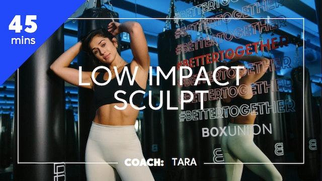 Low Impact Sculpt with Coach Tara