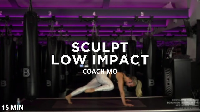 Sculpt - Low Impact - 8/19/2020