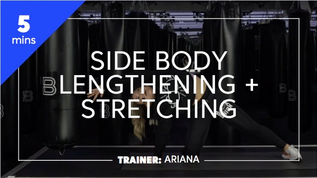 5min Side Body Lengthening + Stretching