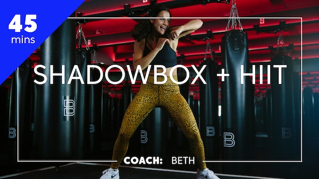 Encore Shadowbox + HIIT with Coach Beth