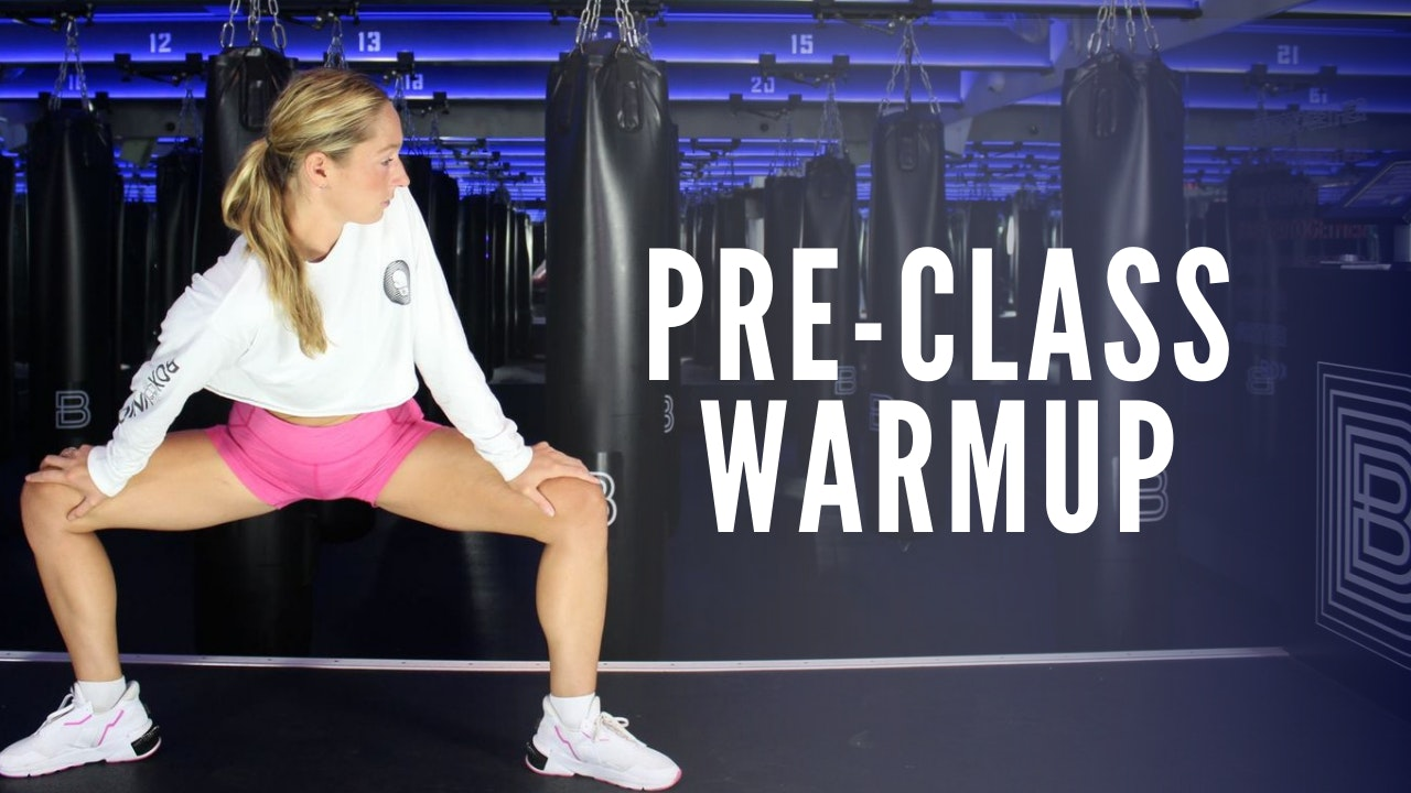 Pre-Class Warmup