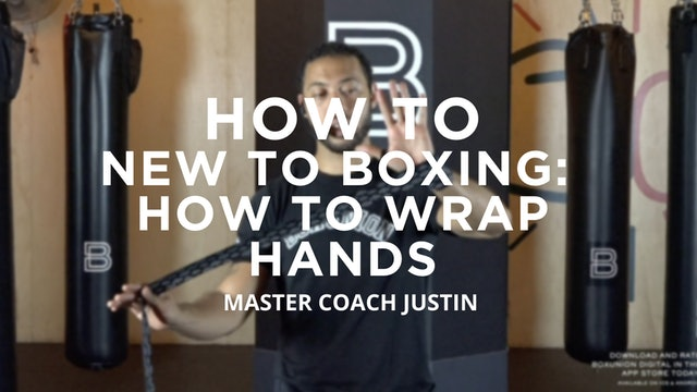 How To - New To Boxing: How To Wrap Hands