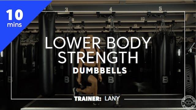 10min Lower Body Strength