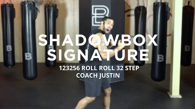 Shadowbox Signature: 123256 ROLL ROLL...