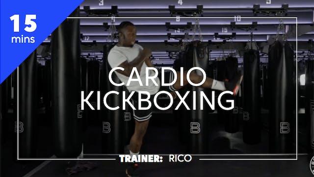 15min Cardio Kickboxing