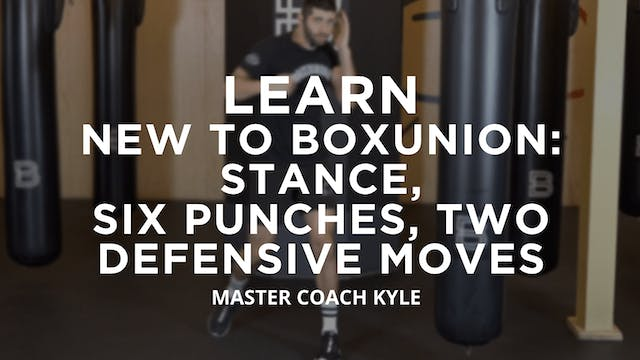 Learn - New To BoxUnion: Stance, Six ...