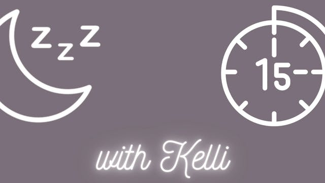 Breathe for better Sleep | Kelli Russel