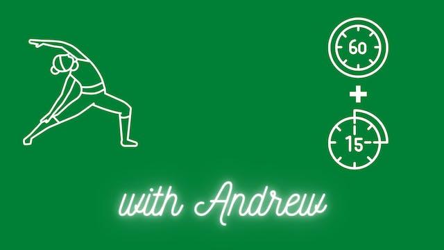 Yoga + Breathe Class | Andrew Schultz