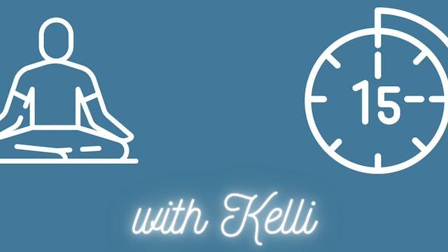 Breathe to release Anxiety | Kelli Ru...