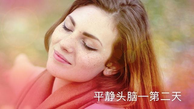 第二天:平静头脑静心 (Chinese)