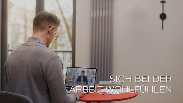 Sich bei der Arbeit wohlfühlen (German)
