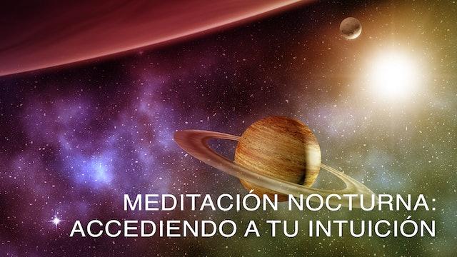 Meditación nocturna: Accediendo a tu intuición (Spanish)