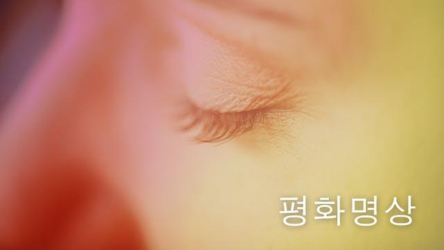 Peace Meditation (Korean)