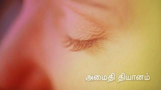 அமைதி தியானம் Peace Meditation (Tamil)