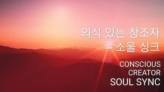 의식 있는 창조자 – 소울 싱크 (K...