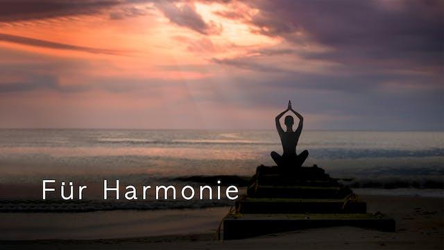 Für Harmonie (German)