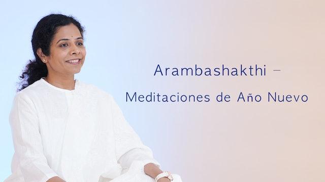 Arambashakthi – Meditaciones de Año Nuevo (Spanish)