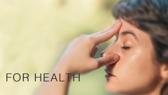 Meditation For Health (English)