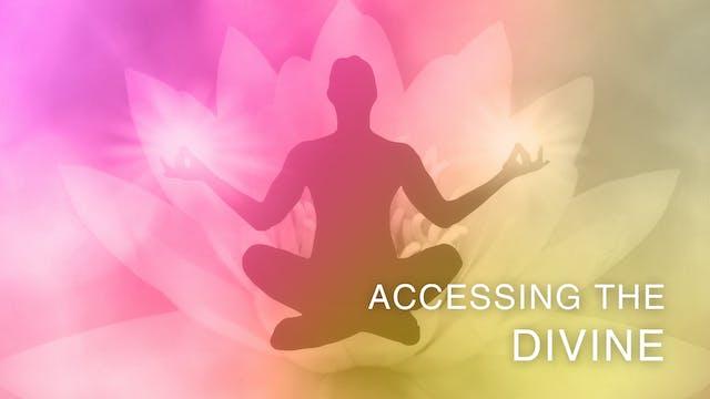 Accessing the Divine - Spanish