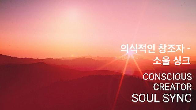 Conscious Creator - Soul Sync 의식적인 창조자 - 소울 싱크 (Korean)