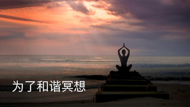 Meditation For Harmony (Chinese)