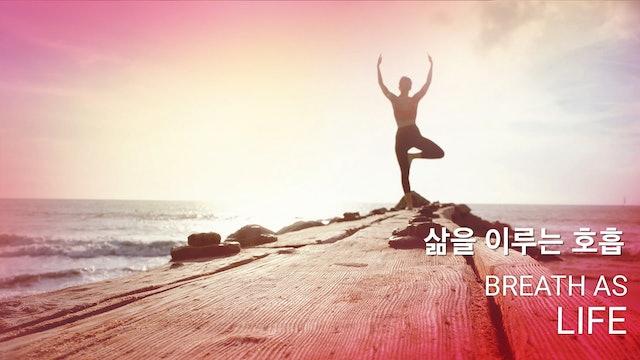 Breath as life 삶을 이루는 호흡 (Korean)