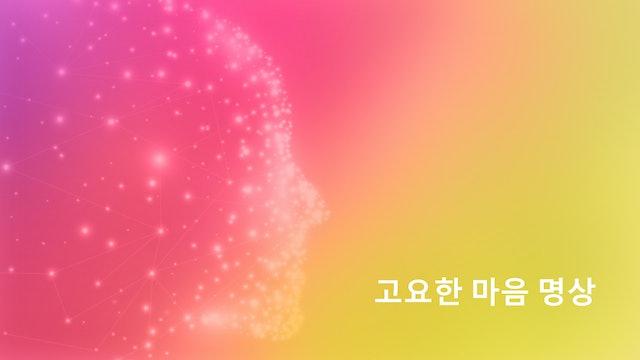 우주 지성 연결하기 : 4일차 (밤에 하는 명상) (Korean)