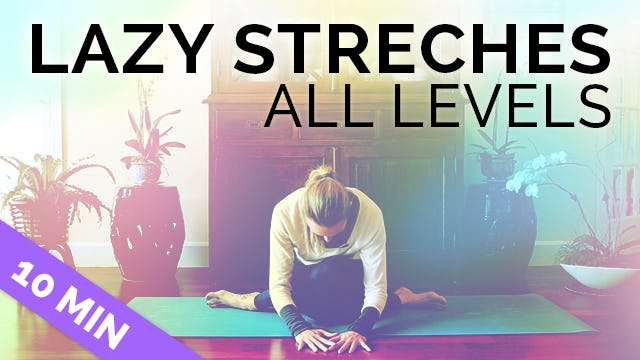 Easy Yoga Stretches for Your Hips, Hamstrings & Biceps - 15 min (All Seated, All Levels)