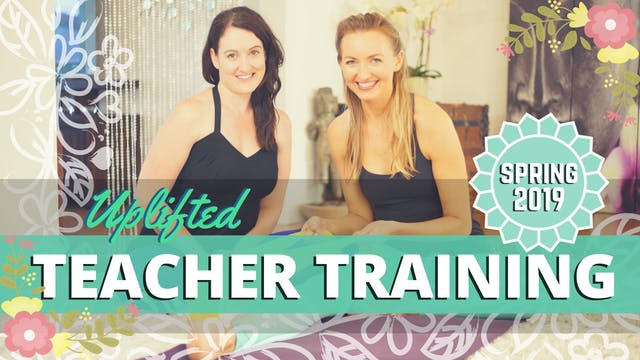 Yoga Teacher Training Material - Spring 2019