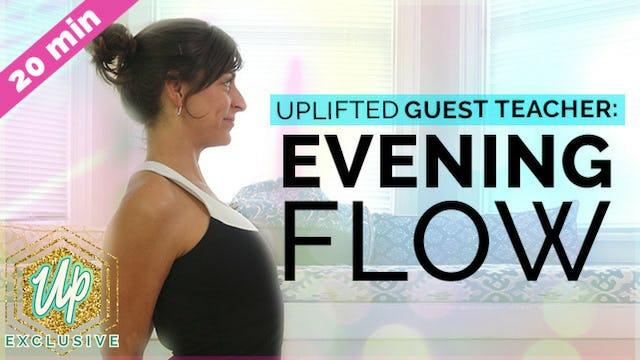 Evening Shoulder Opening Flow w/ Allison (20-Min)