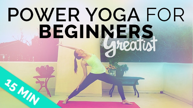 Power Yoga for Beginners for Greatist - Easy Intro to Power Yoga (Beginner Vinyasa Sequence)
